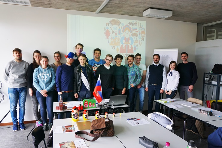 Russian Conversation Course - Yana S. - 2017